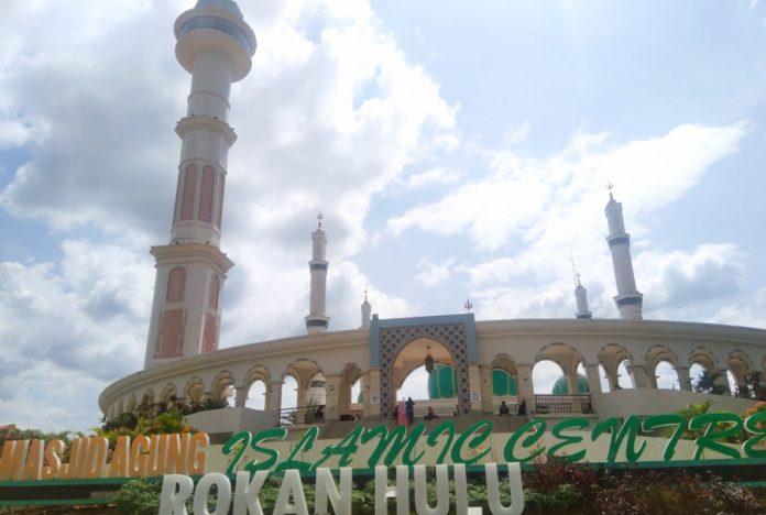 Masjid Agung Islamic Centre Kabupaten Rokan Hulu