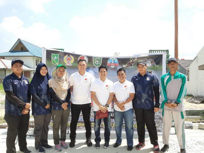 FOPI Rohul Utus 8 Atlet Ikuti Seleksi Pra PON Cabor Petanque di Pekanbaru