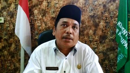Kakan Kemenag Rohul, H Syahruddin MSy