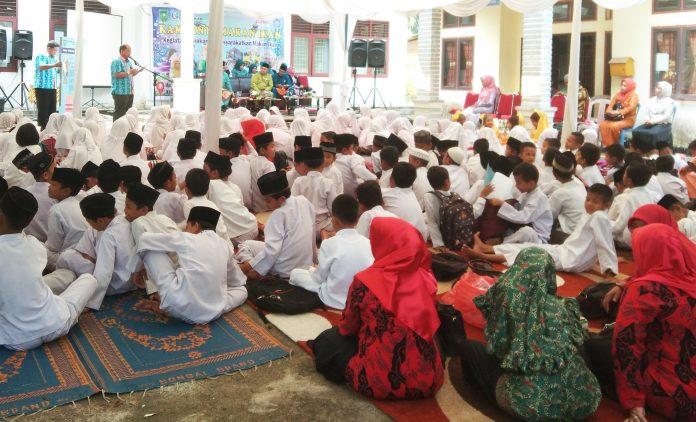 DKP Riau Gelar Kampanye GEMARIKAN Bersama Ratusan Anak Rohul