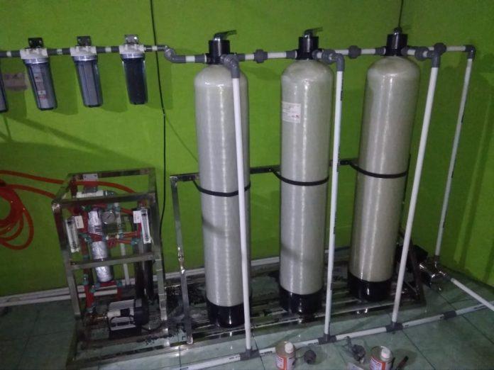 Tim Dosen UPP dan Pamsimas Rohul Tingkatkan Kapasitas Air Bersih di Bangun Purba