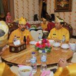 Bupati Rohul H Sukiman bersama forkopimda menjamu sarapan pagi bersama Wakil Gubernur Riau H Edy Natar SIP di rumah dinas bupati