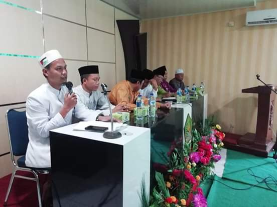 Rapat persiapan pelaksanaan Peringatan Hari Santri Nasional (HSN) ke IV tingkat Provinsi Riau pada 26-27 Oktober 2019