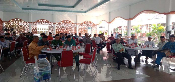 Rapat persiapan HSN tingkat Provinsi Riau ke IV di Pendopo Rumah Dinas Bupati Rohul.