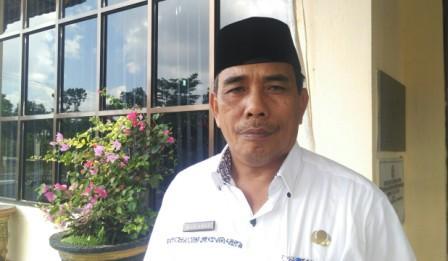 Kepala Disperindag Rohul, Drs H Sariaman MSi