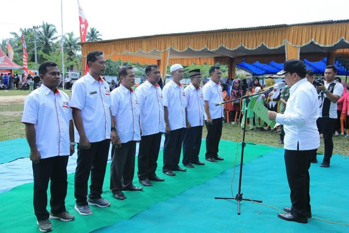 Bupati Rohul H Sukiman Lantik Pengurus PMI Kecamatan Pendalian IV Koto
