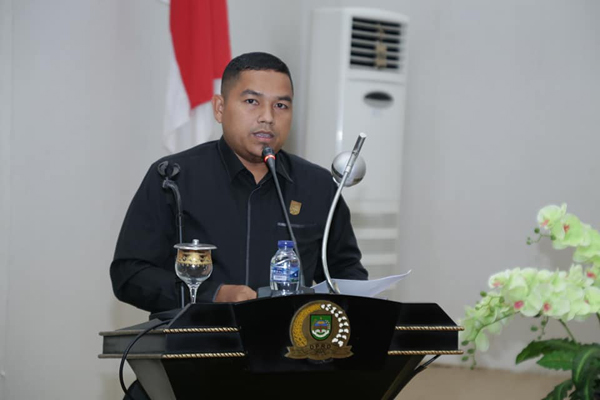 Anggota DPRD Rohul, Muhammad Ilham SP MM