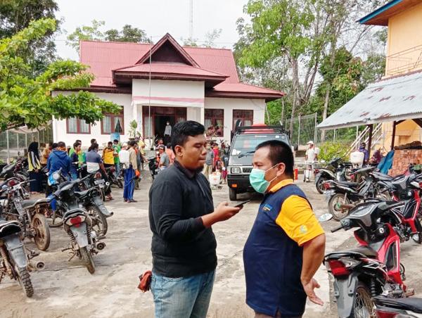 Kepala Puskesmas (Kapus) Rambah Hilir 1, Kus Aedy SKM, Kamis (2/4/2020) ketika diwawancarai Tim Riausmart.com