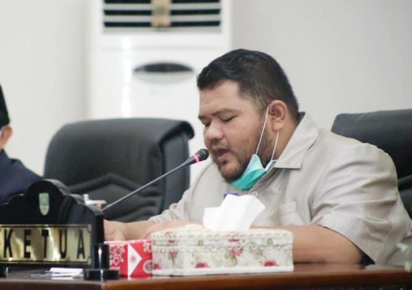 Ketua DPRD Rohul, Novliwanda Ade Putra ST